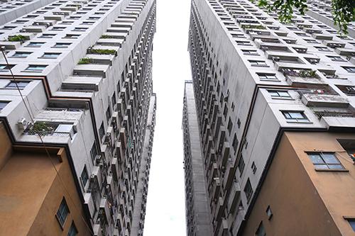 Khu nhà ở CT6, thuộc phường Kiến Hưng, quận Hà Đông - một trong những dự án có căn hộ bị thu hồi sổ hồng. Ảnh: Phạm Dự