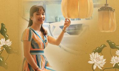 Nữ doanh nhân thổi hồn văn hóa Việt vào quạt trần