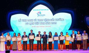 Vietrantour nhận hai giải thưởng du lịch Việt Nam 2019