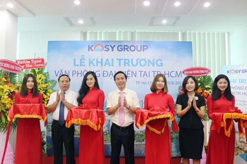 Kosy nam tiến bằng việc thành lập văn phòng đại diện tại TP HCM.