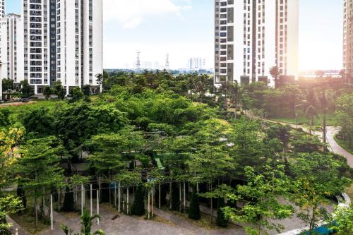 Không gian sống xanh trong đô thị Hồng Hà Eco City - 5