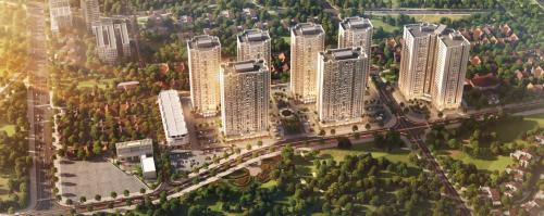 Khu đô thị Mipec City Viewđã đi vào hoạt động 3 tòa chung cư.