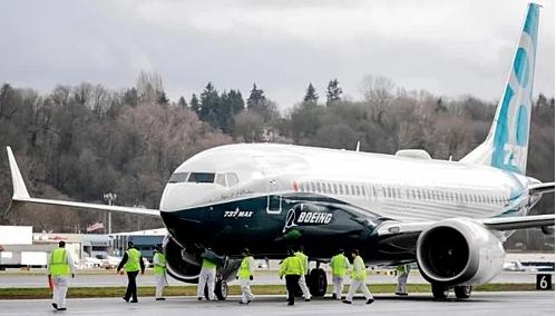 Một chiếc 737 MAX 8 của hãng sản xuất máy bay Mỹ - Boeing. Ảnh: AFP