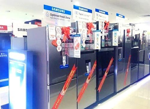 Các dòng tủ lạnh Samsung công nghệ Inverter đang được ưa chuộng.