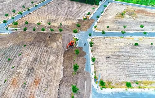 Một dự án được xây trái phép tại Bà Rịa - Vũng Tàu. Ảnh: Nguyễn Khoa