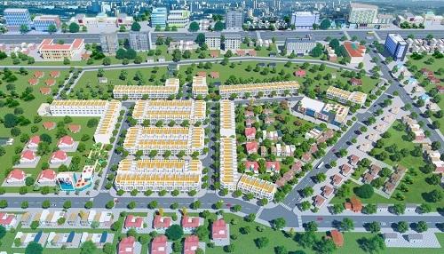 Phối cảnh dự án Long Thành Phát Residence tại Phước Bình, Long Thành, Đồng Nai