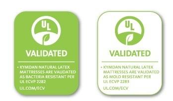 Các sản phẩm nệm Kymdan có độ đàn hồi tối ưu, kháng được vi khuẩn và nấm mốc.