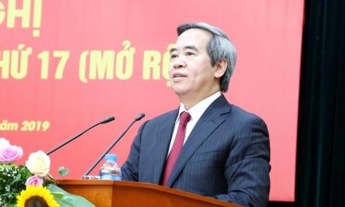 Ông Nguyễn Văn Bình, Trưởng ban Kinh tế Trung ương tại Hội nghị ngày 26/7.