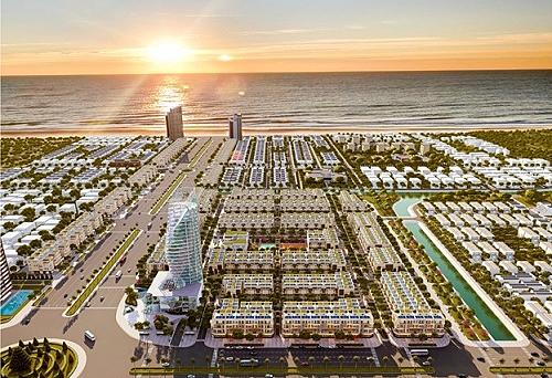 Melody City tọa lạc ngay tại bờ biển thơ mộng Nguyễn Tất Thành