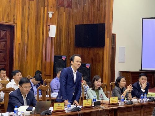 Ông Trịnh Văn Quyết, Chủ tịch Hội đồng quản trịTập đoàn FLC