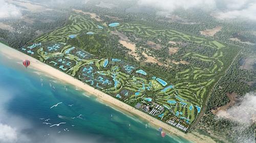 Phối cảnh dự án FLC Quảng Bình.