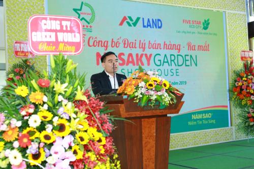 Ông Trần Văn Mười - Chủ tịch tập đoàn phát biểu tại sự kiện.