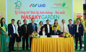 Tập đoàn Quốc tế Năm Sao chọn AVLand phân phối Nasaky Garden Shophouse