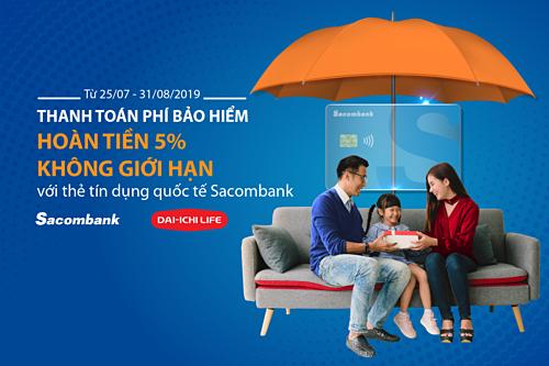 Để biết thêm thông tin chi tiết, khách hàng vui lòng liên hệ Hotline 1900 5555 88 hoặc 028 3526 6060; truy cập website khuyenmai.sacombank.com và đăng ký thẻ online tại website card.sacombank.com.vn