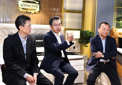 Ông Masafumi Ito - CEO của Simmons khu vực châu Á đánh giá qua quá trình hợp tác 5 năm qua với RitaVõ.