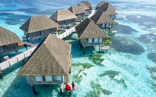 Maldives là một trong các lựa chọn hàng đầu để du lịch bằng máy bay riêng ở châu Á của giới siêu giàu. Ảnh: Pixabay