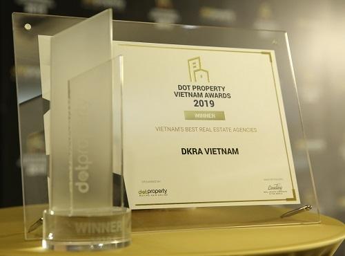 Giải thưởng khẳng định những giá trị và đóng góp của DKRA Vietnam đến khách hàng, đối tác, cổ đông cũng như thị trường