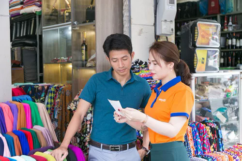 Khách hàng của SHB Finance là cá nhân, người kinh doanh nhỏ lẻ.