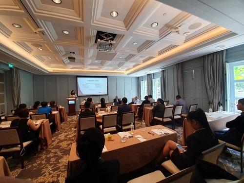 Một hội thảo về EB-5 của AVS tại TP HCM vào tháng 7/2019.