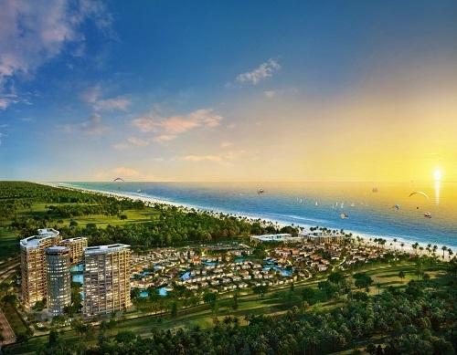Thị trường bất động sản nghỉ dưỡng tại Cam Ranh đang có nhiều lợi thế cạnh tranh (Ảnh: Dự án NovaBeach Resort & Villas)