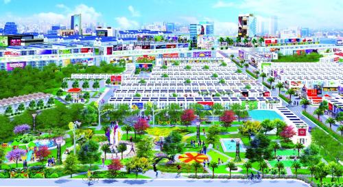 Chủ đầu tư Hà Namkhởi công công viên trung tâm dự án Hana Garden Mall