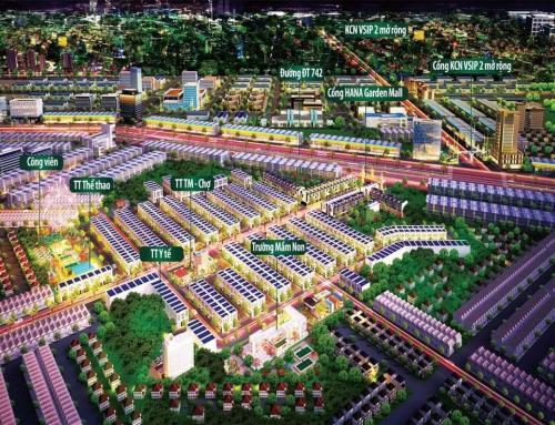 Chủ đầu tư Hà Namkhởi công công viên trung tâm dự án Hana Garden Mall - 1