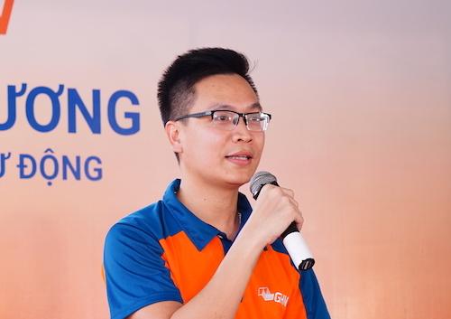 Ông Lương Duy Hoài - đồng sáng lập, Giám đốc điều hànhGHN. Ảnh: A.Minh