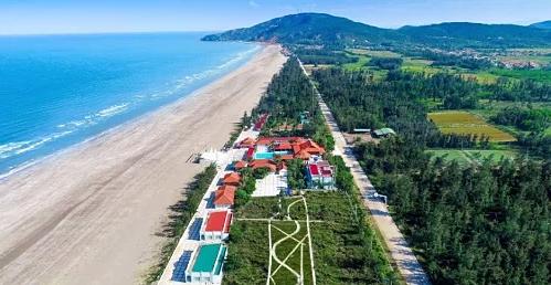 Biển Quỳnh, giàu tiềm năng khai thác du lịch của Nghệ An.
