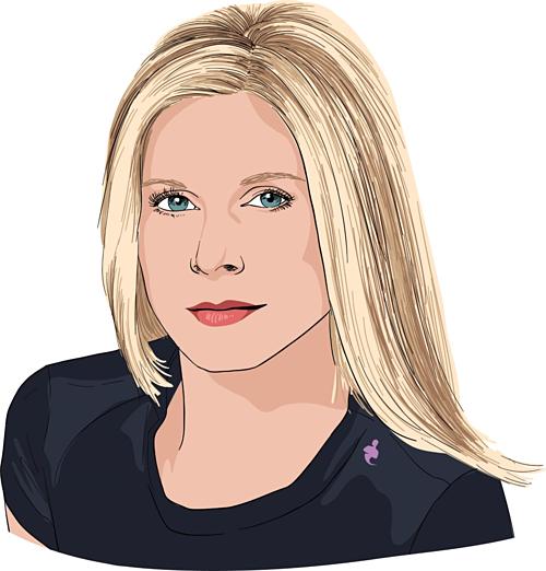 Marla Beck - Nhà đồng sáng lập kiêm CEO Bluemercury. Ảnh đồ họa: CNBC