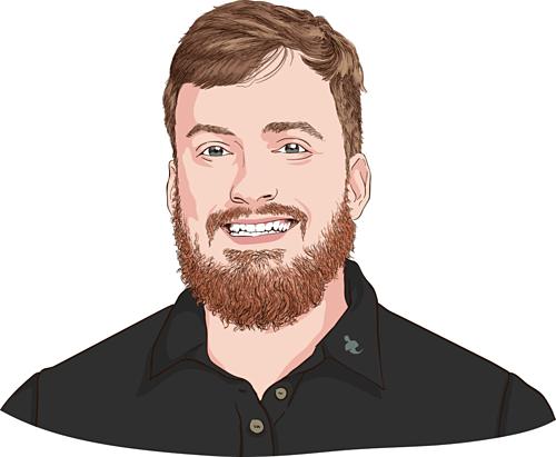 Ryan Dossey - Nhà sáng lập Call Porter and Ballpoint Marketing. Ảnh đồ họa: CNBC