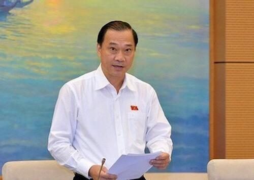 Ông Vũ Hồng Thanh - Chủ nhiệm Uỷ ban Kinh tế Quốc hội. Ảnh: Trung tâm báo chí Quốc hội