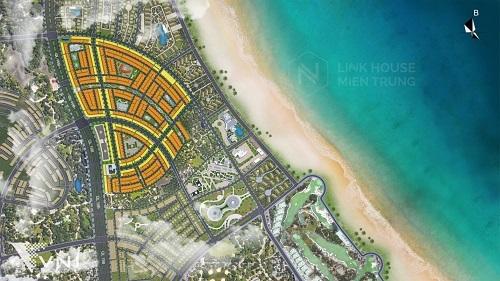 Phối cảnh phân khu sắp ra mắt của dự án Nhơn Hội New City.