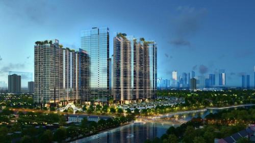 Phối cảnh dự án  Sunshine City Sài Gòn.
