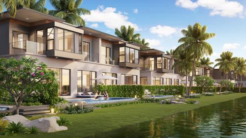 30 căn biệt thự view hồ Luxe Lagoon Villas được giới thiệu ra thị trường trong thời gian tới.