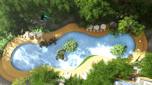 Dự án Charm City đem đến không gian sống như resort giữa lòng Dĩ An.