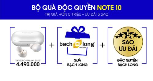 Đặt hàng Galaxy Note 10 | Note 10+ chính hãng, nhận bộ quà có 1 – 0 – 2 (bài xin edit_Linhbd2)