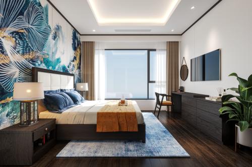 Thiết kế một căn hộ tại dự án The Sapphire Premier Ha Long.