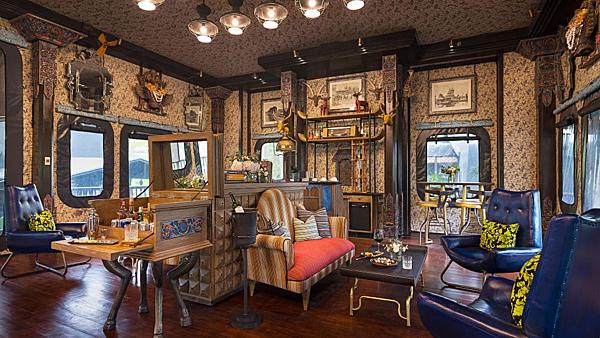 Phong cách thiết kếsáng tạo của Bill Bensley tạimột trong những khu nghỉ dưỡng danh tiếng nhất thế giới.