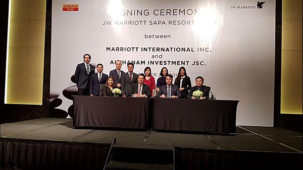 Alphanam Group bắt tay cùng Marriott International phát triển JW Marriott Sapa Sapa Resort & Spa từ năm 2017