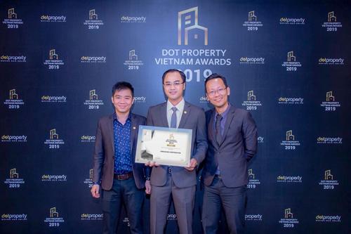 LinkHouse đạt giải Best Innovation and Technology Vietnam 2019 của Dot Property Vietnam Awards 2019