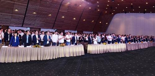 1.500 nhân viên kinh doanh tham gia buổi tập huấn thông tin về dự án Nhơn Hội New City.
