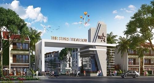 Phối cảnh dự án TNR Stars Thoại Sơn do TNR Holdings Việt Namlàm chủ đầu tư.