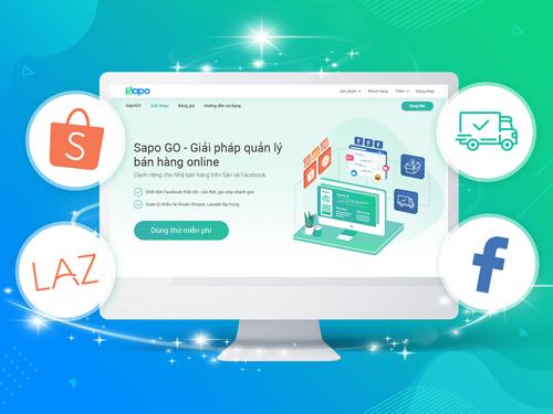 Sapo Go cung cấp giải pháp quản lý bán hàng online dành riêng cho nhà bán hàng trên sàn thương mại điện tử và Facebook.
