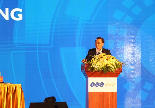 TS. Trần Du Lịch phát biểu tại sự kiện