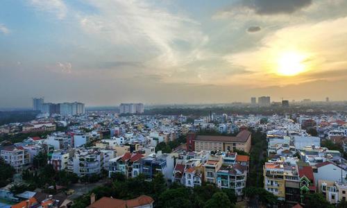 Thị trường bất động sản ven Sài Gòn. Ảnh: Lucas Nguyễn