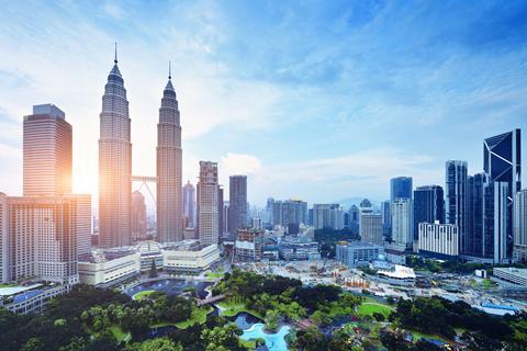 Một góc thủ đô Kuala Lumpur xanh và hiện đại