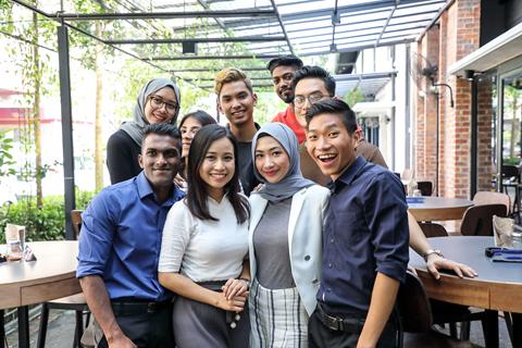 Malaysia là nơi nhiều chủng tộc hòa nhập.