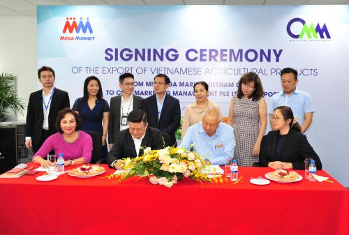 MM Mega Market xuất khẩu nông sản Việt sang thị trường Singapore