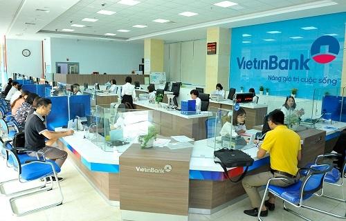Một phòng giao dịch củaNgân hàng TMCP Công Thương Việt Nam (VietinBank)
