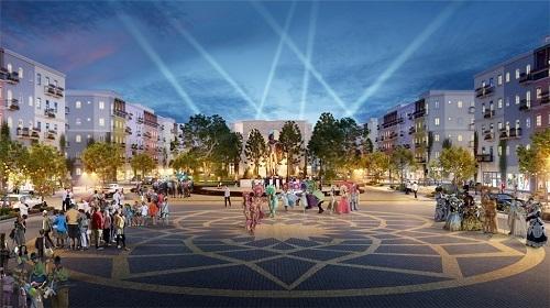 Sun Grand City New An Thoi với lối thiết kế không gian đô thị thông minh.